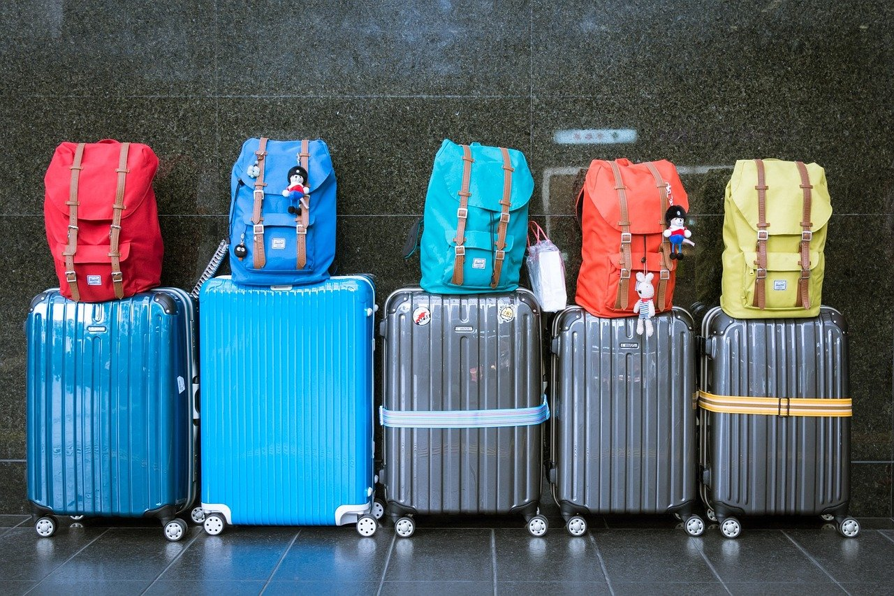 Travel Insurance . Suitcases